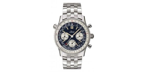903 St B E - The Navigation Chronograph on Bracelet - SIN 237 b