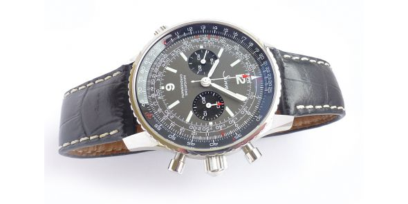 Sinn 903 H2 - Limited Edition of 220 Lemania 1872 Hand Winding Bracelet and Leather Strap - NWW 1501