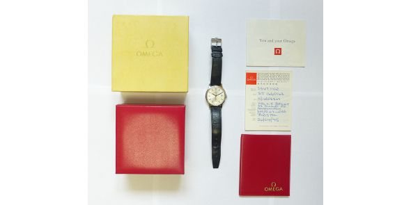 Omega Geneve 1975 - Box & Papers - OME 629