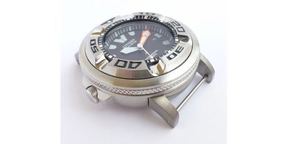 Citizen Promaster 300m Professional Diver Eco Drive With Additional Screw on Stevral Lugs - NWW 1503