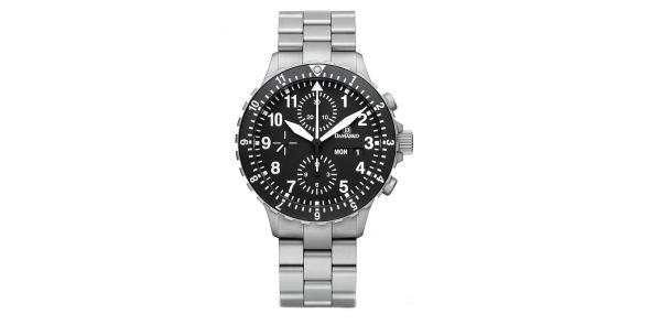 Damasko DC66 Automatic Chronograph Watch - on Bracelet - DC66B
