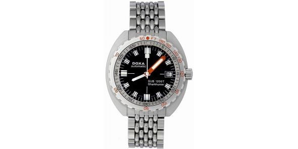 Doxa Sub 1200 T Sharkhunter Automatic Divers Watch Limited Edition - NWW 1513