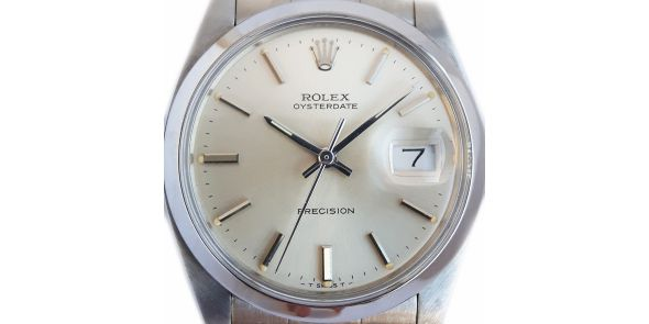 Rolex Oysterdate Precision Silver Dial - ROL 699