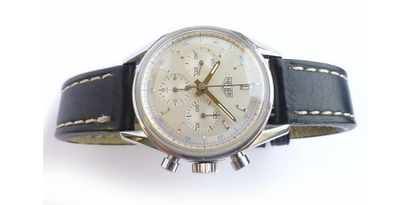 Heuer Carrera 1964 Re-Edition Hand Wound Lemania 1873 Movement - NWW 1520