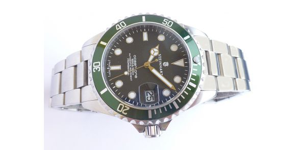 Steinhart Ocean One 39 Green Pre Owned - NWW 1517