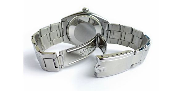 Rolex Air King Superprecision on Sprung Riveted Bracelet - ROL 704
