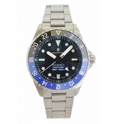 Steinhart Ocean 39 GMT Premium 500 - Steel with Ceramic Bezel 0950