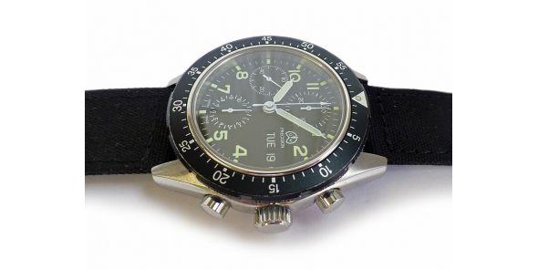Ollech & Wajs Mirage III Chronograph - Valjoux 7750 - NWW 1547