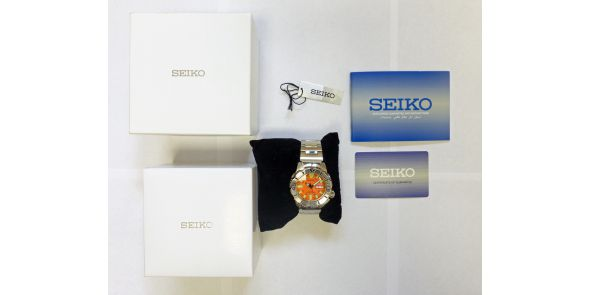 Seiko 5 Sports Automatic - Orange Monster - Divers Watch - NWW 1551