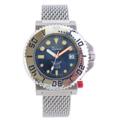 Squale Tiger 300 Metre Professional Divers Watch on Bracelet SQL 25
