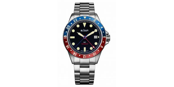 Sea Colt GMT Blue Red - LJ-SC-005