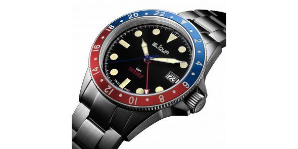 Sea Colt GMT Blue Red - LJ-SC-005