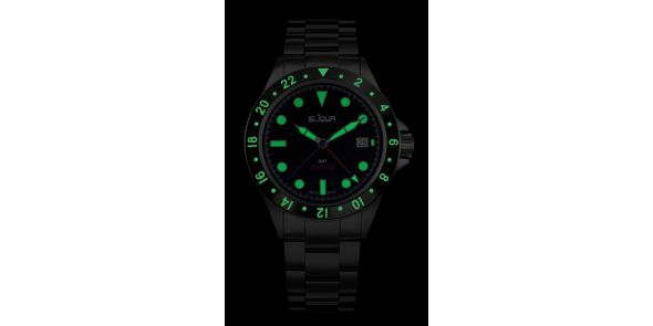 Sea Colt GMT Black - LJ-SC-005