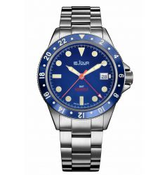 LeJour Sea Colt GMT Blue LJ-SC-002
