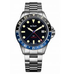 LeJour Sea Colt GMT Blue Black LJ-SC-004