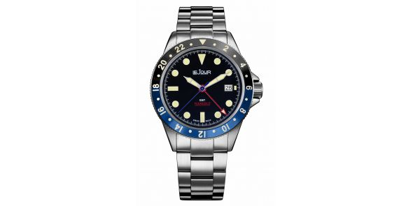 Sea Colt GMT Blue Black - LJ-SC-004