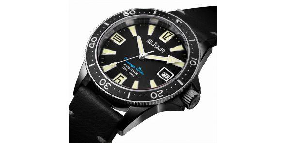 Vintage Diver Black - LJ-VD-002