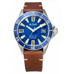 LeJour Vintage Diver Blue LJ-VD-003