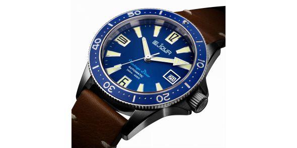 Vintage Diver Blue - LJ-VD-003