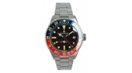 Latest Items - Watches - GMT - Ocean 39 vintage GMT Premium blue/red Ceramic