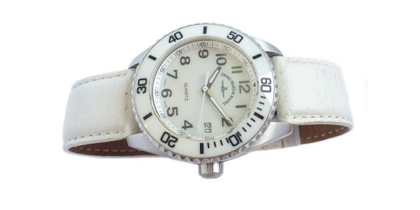 Zeno Divers Watch White Ceramic - NWW 1569