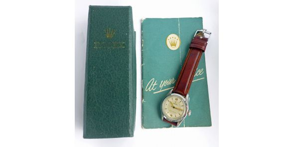 Rolex Oyster Royal Original Box and Service Booklet - ROL 707