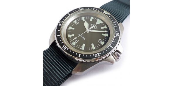 New CWC Royal Navy Spec Auto Diver Mk2 - NWW 1587