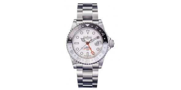 Davosa Ternos Professional GMT Black & White Automatic - 161.571.15