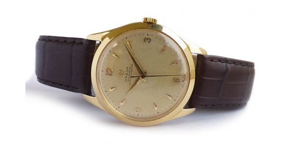 Omega Chronometre Officially Certified Jumbo Case - 18k Yellow Gold - OME 646