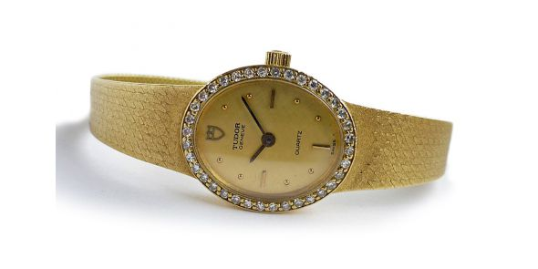 Tudor 18k Gold and Diamond - NWW 1593