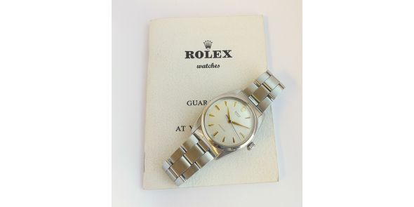 Rolex Oyster Precision 1965 Original Box Unstamped Papers - ROL 713