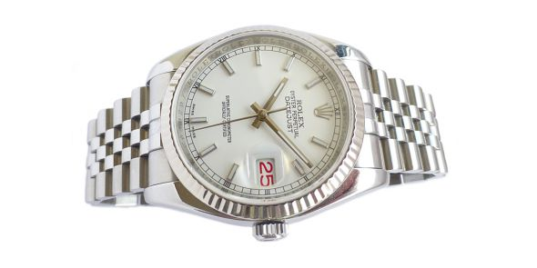 Rolex Oyster Perpetual Datejust with Roulette Date Wheel - ROL 721