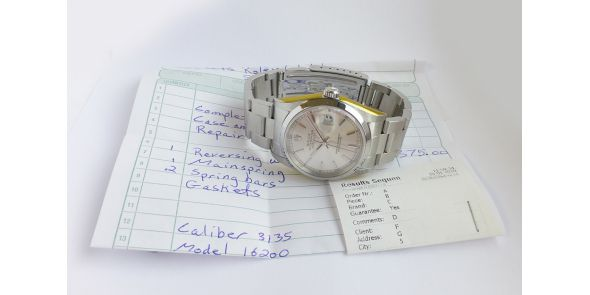 Rolex Oyster Perpetual Datejust on Oyster Bracelet - ROL 722