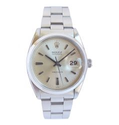 Rolex Oysterdate Precision Silver Dial. ROL 719
