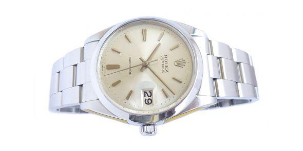 Rolex Oysterdate Precision Silver Dial. - ROL 719