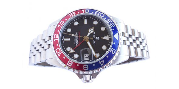 Steinhart GMT-OCEAN One 39 Blue-Red 2 - NWW 1609