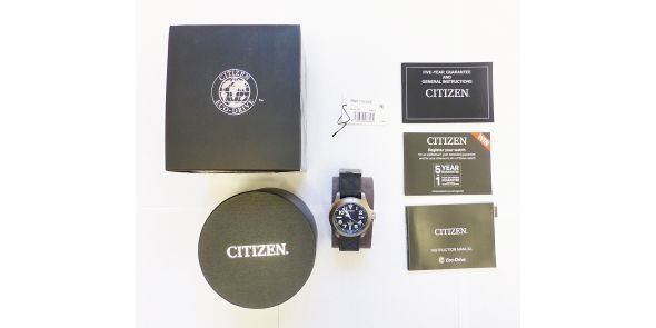 Citizen Eco-Drive Promaster Tough Titanium Watch - NWW 1607