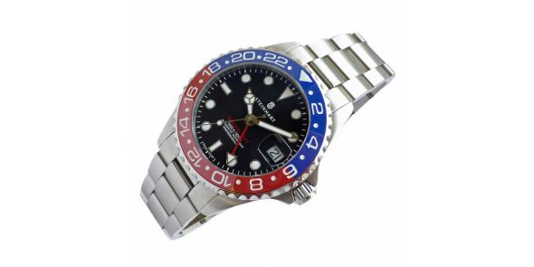 Ocean 39 GMT Blue-Red Ceramic - 1062