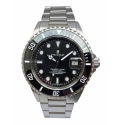 Steinhart OCEAN 1 BLACK Ceramic - Upgraded Engraved Bezel 1079