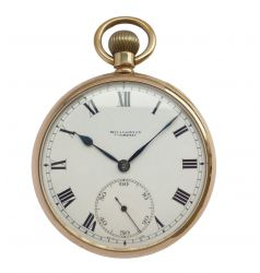 IWC Gents IWC Pocket Watch in 9ct Rose Gold Case NWW 1623
