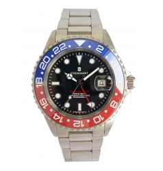 Steinhart Ocean One GMT BLUE-RED Ceramic 1099