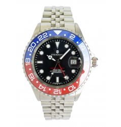 Steinhart Ocean One GMT BLUE-RED. 2 Ceramic 103-1100