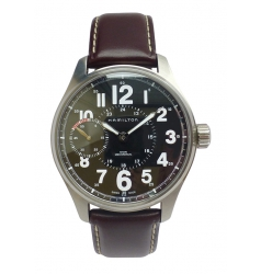 Hamilton Hamilton Khaki Field Officer Mechanical NWW 1794