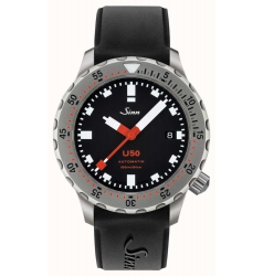 Sinn Sinn U50 Fully Tegimented on Silicone Strap 1050.030 Si