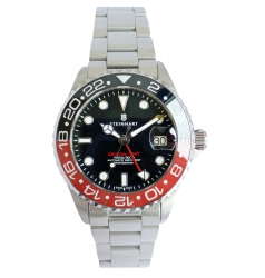 Steinhart Steinhart Ocean 39 GMT BLACK-RED Ceramic 103-1153