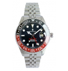 Steinhart Steinhart Ocean 39 GMT.2 BLACK-RED Ceramic 103-1154