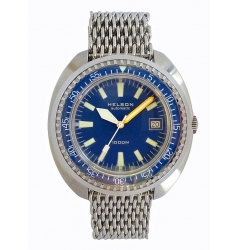 Helson Tutle 1000 Metre Automatic Divers - Blue NWW 1847