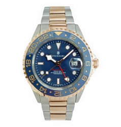 Steinhart Steinhart Ocean One GMT two-tone BLUE 103-1081