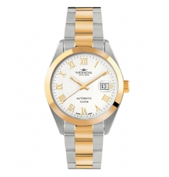Mondia Mondia Steel-Gold Index on Oyster Swiss Automatic MS-212-SO-42WT-GB