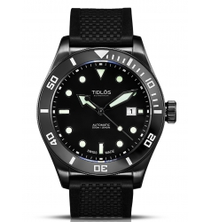 Tidlos Tidlos Marin 44mm Automatic Black Dial and Case 5.434.259.68.04